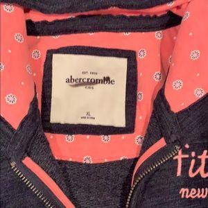abercrombie kids Shirts & Tops - Abercrombie Zip Sweatshirt